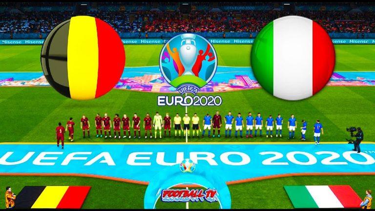 Laga Sengit Belgia vs Italia Euro 2021 Berlangsung Alot