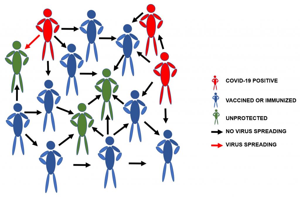 Mendorong Terbentuknya Herd Immunity