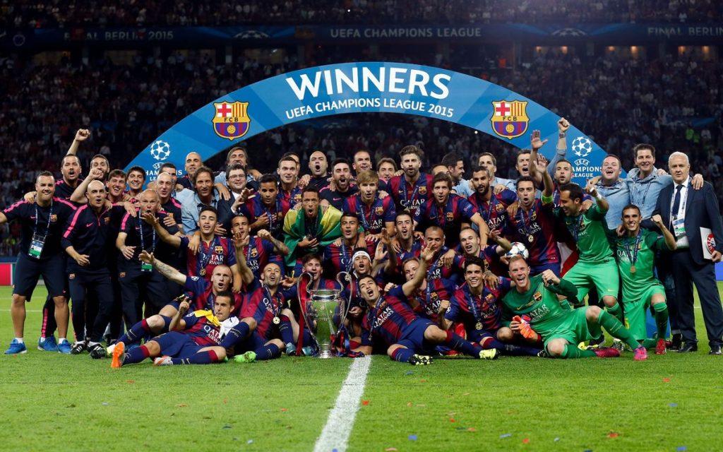 Barcelona Liga Champions