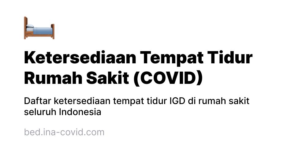 Bed.ina-covid.com